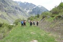 Haut Champagny- Vannoise. Nordic WAlking with Vivo-shapehealthlife