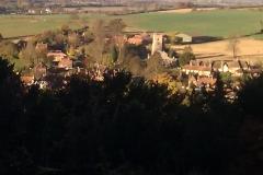 Autumn view across Aldbury